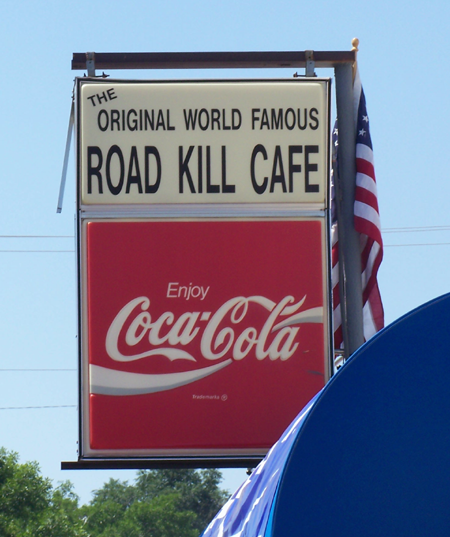 Sturgis Rally 2007 road kill cafe