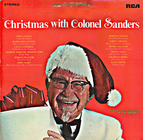 Christmas with Colonel Sanders ~ Col. Sanders