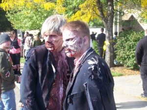 Zombies in love?